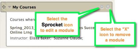 Module Settings icon