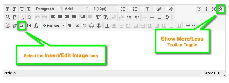 BB Content Editor - Insert/Edit Image