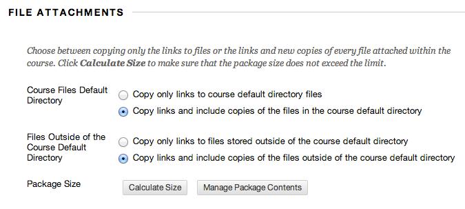 Export - File Attachments